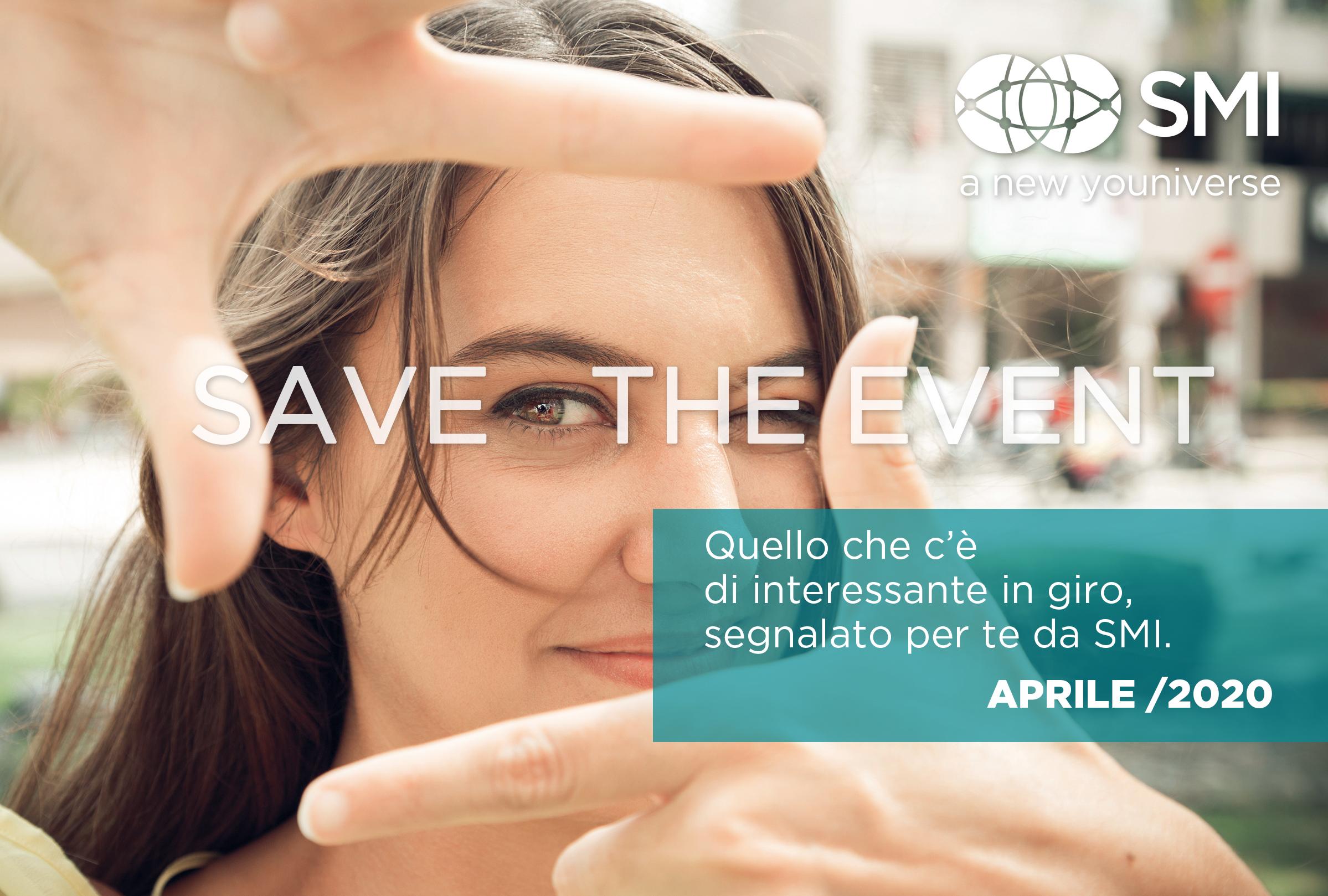 #savethevent_aprile 2020